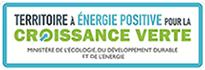 Logo du territoire à énergie positive pour la croissante verte