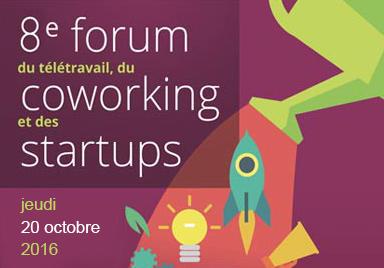 8e Forum du télétravail, du coworking et des startups