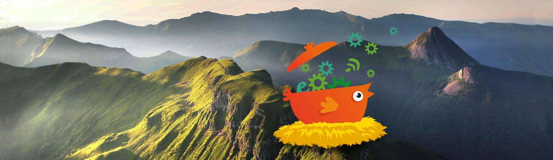 La COcotte numérique a fait son nid dans le Cantal